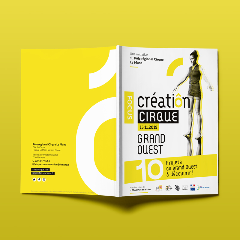 Couverture brochure culturel Focus Cirque 2019