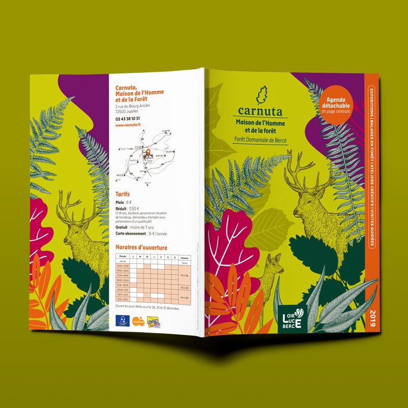 Couverture brochure culturelle CARNUTA