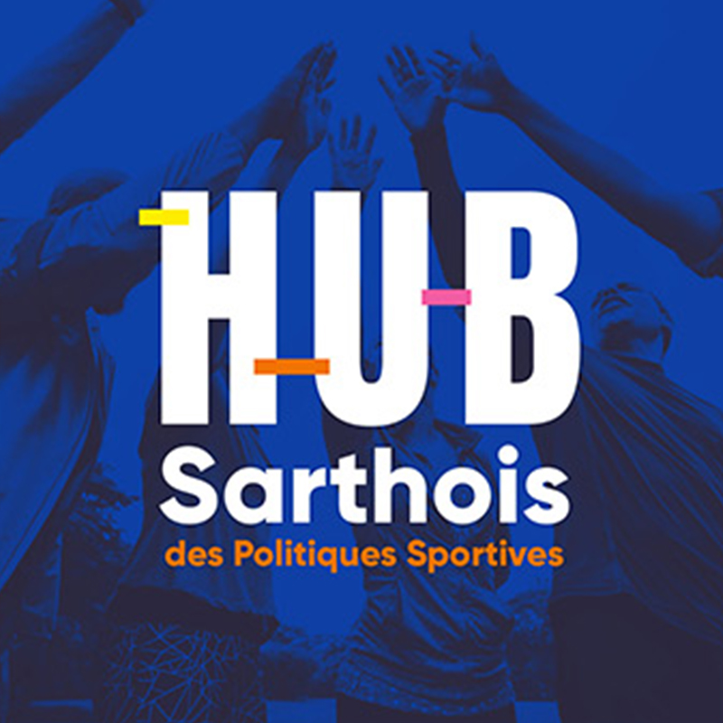 Logo HUB Sarthois des Politiques sportives