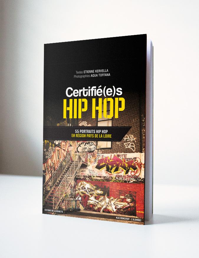 Couverture livre Certifé(e)s Hip Hop