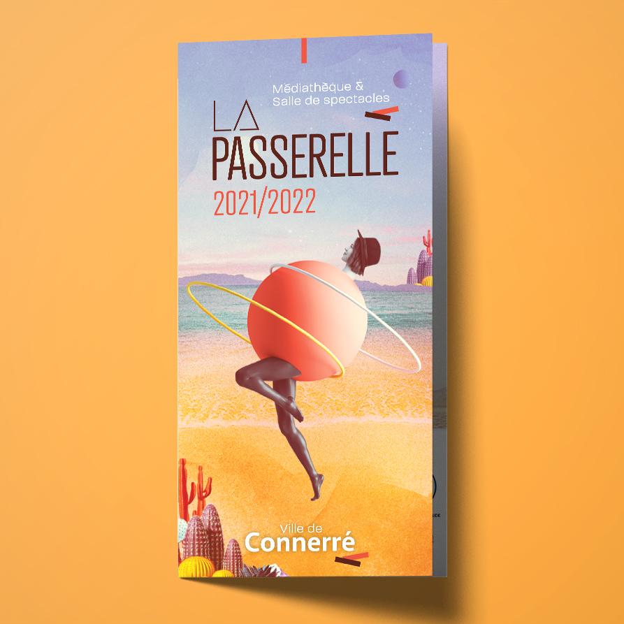 Création du programme culturel de La Passerelle 201-2022