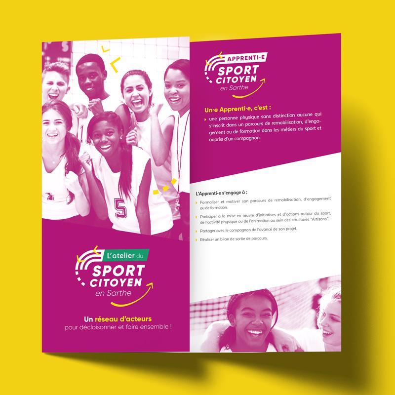Plaquette de présentation L'Atelier du Sport Citoyen