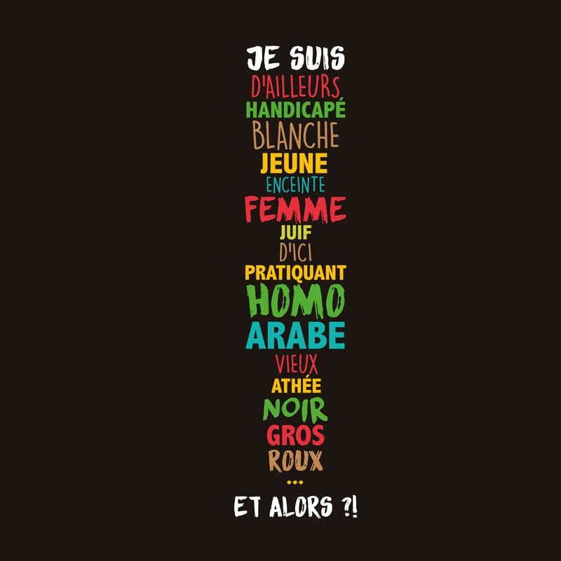 Visuel affiche Semaines d'Éducation contre les Discriminations 2016