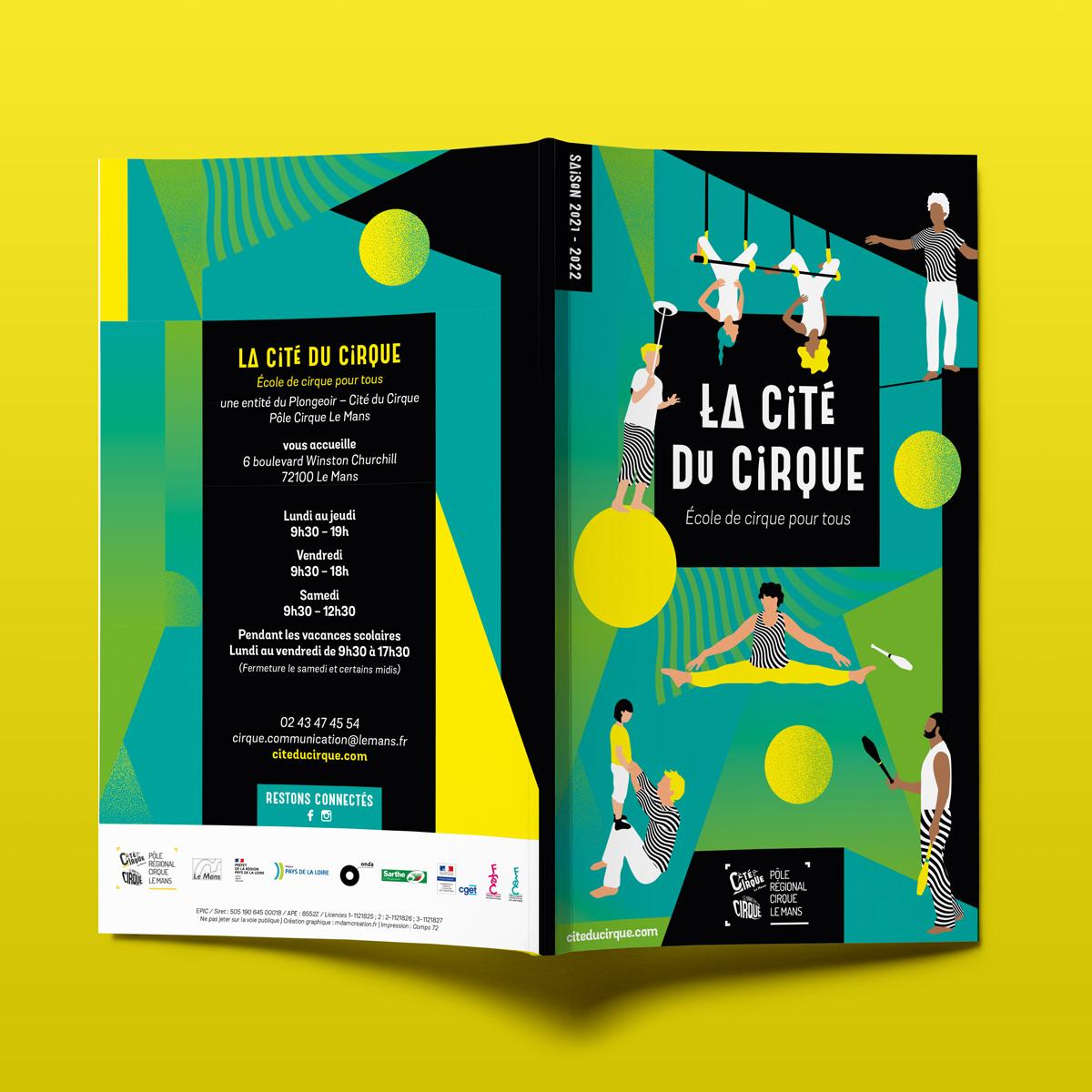 Programme culturel Cité du cirque 2021-2022